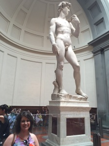 The David and me